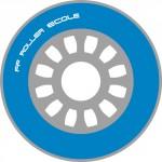 roue bleue