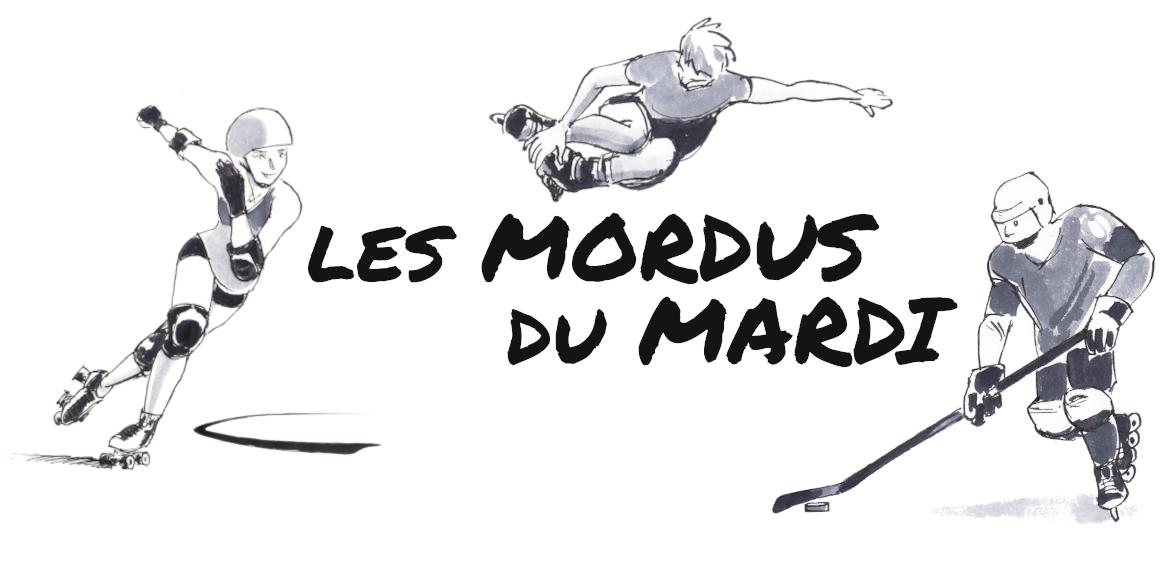 """Logo """"les mordus du mardi"""""""